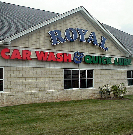 Royal Carwash & Quick Lube on Rt. 23 in WAYNE, NJ uses state of the art Car Wash equipment